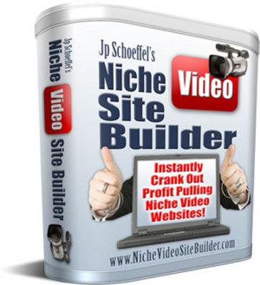Product picture Niche Video Site Builder