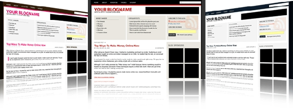Product picture Ultimate Blogging Theme - When Form Overtakes Content